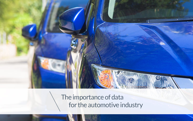 The Importance Of Data For The Automotive Industry
