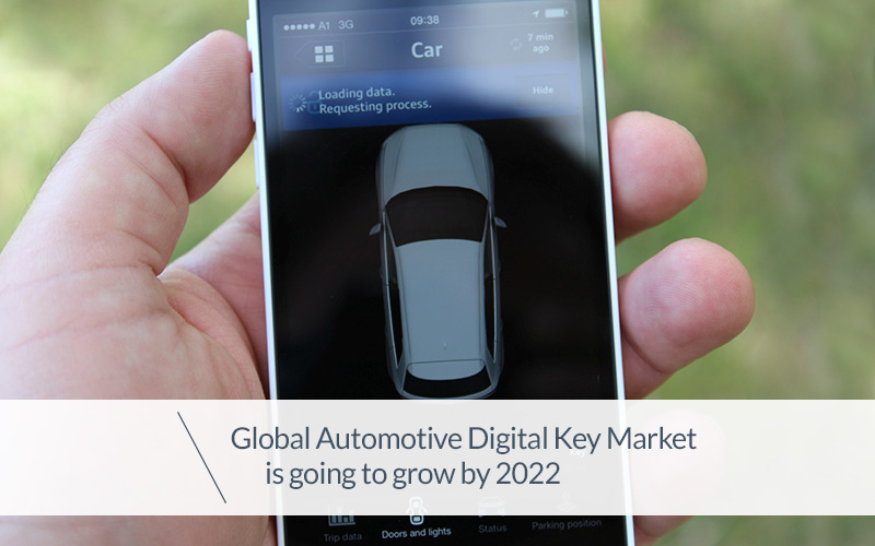 Global Automotive Digital Key Market is going to grow by 2022